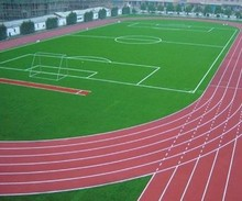 Guangzhou tartan running tracks outdoor sports flooring
