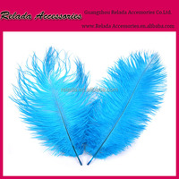 Custom-made Something blue Wedding Decoration Bulk Ostrich Feathers for party