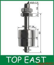 Mini interruptor de flotador de acero inoxidable sensor de posiciónn M10*60MM