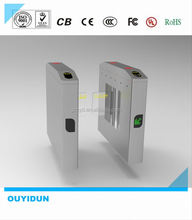 elegant appearance wing turnstile with remote control