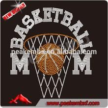 I have no life my son play basketball rhinestone garment accessories