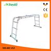 10m aluminum hydraulic ladder for sale folding construction ladder (MD-802 4x3)