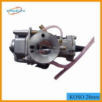 performance koso 34mm carburetor Motorcycle GY6 OKO Carburetor With Power jet
