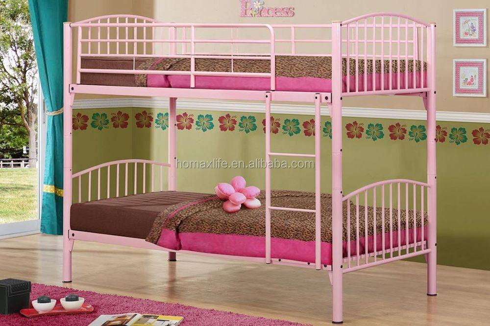 Metal children bunk bed for sale double decker single bed for Double deck bed for sale
