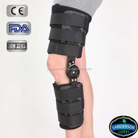 Samderson C1KN-603 POST-OP Hinged Knee Brace H1 -ROM Motion Control Cool durable flexion and extension soft foam