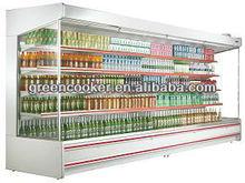 Refrigerador abierto de tipo Multideck para productos lácteos