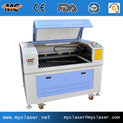 MC6040 Table top CNC CO2 laser cutting machine for sale
