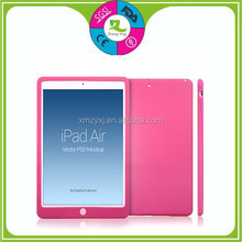 Cute fashion silicone rubber case for ipad mini, Silicone phone case