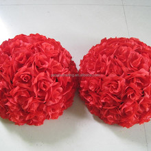 cheap price wedding decoration artificial red rose flower wholesale
