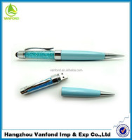 High qualtiy real capacity OEM usb 2.0 crystal usb pen drive with logo