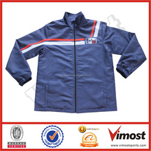 customized high quality sports jacket warm ups for team wear with sublimation printing