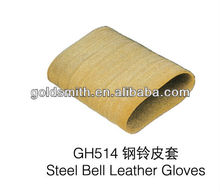steel bell leather gloves , jewelry tool