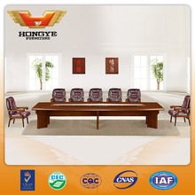 Luxury wood conference table meeting room table HY-A3801