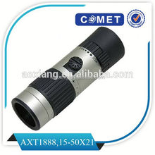 made-in-china 15-55x21 monocular,newest design zoom telescope lens monocular