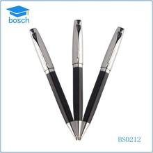 Metal pens silver and black Promotional Pen fancy ballpoint pen
