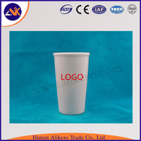 wholesale eco friendly without handle white ceramic coffee mugs
