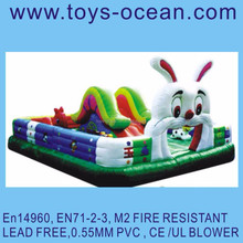 inflatable rabbit playground ,rabbit bounce city ,inflatable rabbit jumping game