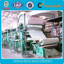 DingChen Machinery home business small machinery to make toilet tissue paper roll
