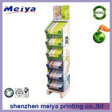 2014 supermarket Custom cardboard display stand