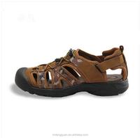 Men Sandal Sale Medium(b,m) Back Strap Shoes Free Shipping Genuine Sandals 2015 Summer New Men's Beach cool Shoes