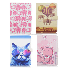 Animal Elephant Bear Cat Durable Folding Flip Stand PU Leather Tablet Cover Case For iPad Mini 4