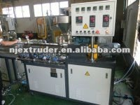 Nanjing lab pelletizer line/ SHJ-20 Small Co-rating twin screw extruder