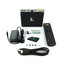 hybrid DVB-T2 android OTT&IPTV combo set top box, Amlogic S805 quad core solution