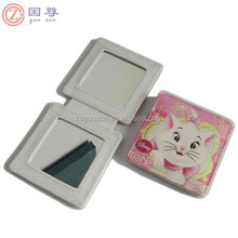 Printing Cat Double Sided Compact Handbag Mirror
