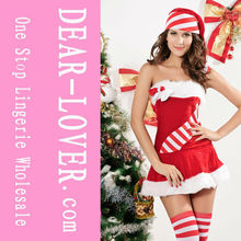 Candy Cane sexy christmas santa teddy lingerie
