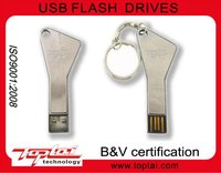 hot selling best cheap promotion gift usb2.0 metal cute Triangle key 16gb gift usb