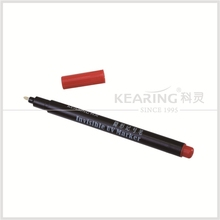 kearing brand invisible laundry UV Marker,invisible ink pen ,dye resist permanent invisible ink pen#UVP10