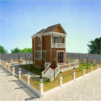 Eco friendly wpc reddish lodge renewable sources wpc nice house wooden houses