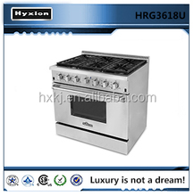 Hot sale best gas range with convection oven