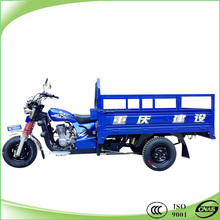200cc air cooled motorized cargo trike with bumper