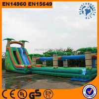Giant Commercial Grade Palm Tree Inflatable Water Slides for Sale