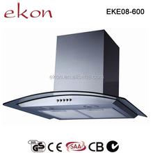 430 Stainless Steel 60cm Chinese Cooking Range Hood