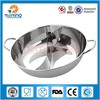 201 stainless steel cooking pot/non-stick pot
