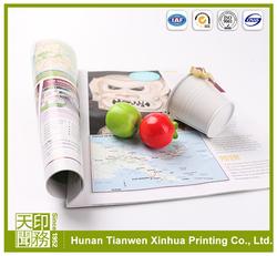 Foldable magazine high quality magazine printing