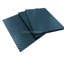 Long lasting performance 3k carbon fiber sheet 1.5mm thickness