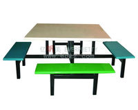 Hot Sale Fast Food Cafeteria Canteen Bench Canteen Furniture