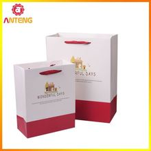 T Shirt Bags Packaging Bag Matt Paper Bag