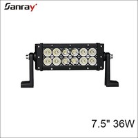 mini 7 inch 36w wholesale waterproof led off road light bar for motorcycle