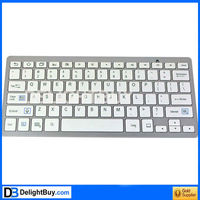 Wireless Bluetooth Keyboard for Apple Mac iPhone 4G 4S iPad 2 3 Samsung Smart Phone Tablet