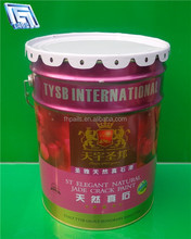 5gallon pink metal bucket for industrial usage