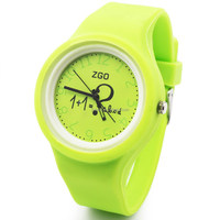 silicone young people sport watch