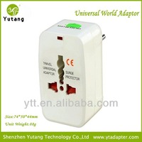 portable travel plug adapter walmart EU AU UK US plug travel power charger adapter