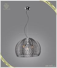 2015 Classic hot sale large iron shade three lights pendant lamp