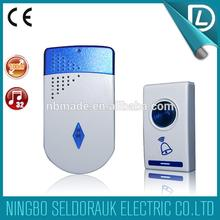 Compeititive price and nice shape battery type remote control smart doorbell for sale