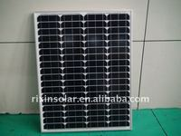 75W Good Quality Monocrystalline silicon solar cell
