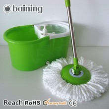 360 spin magic mop with detergent bottle which can conveniently to clean mop head when using
